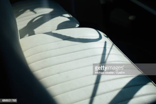 Sunlight Falling On Car Seats