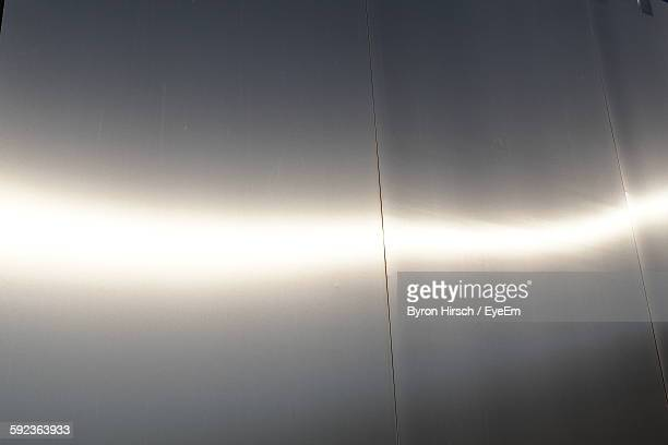 Sunlight Falling On Metal