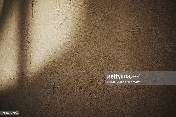 Sunlight Falling On Wall