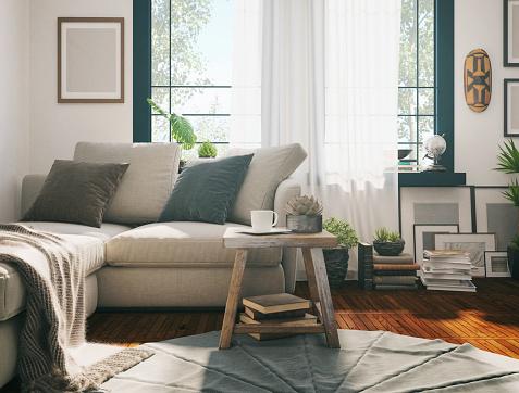 Sunlight Living room 1134293954