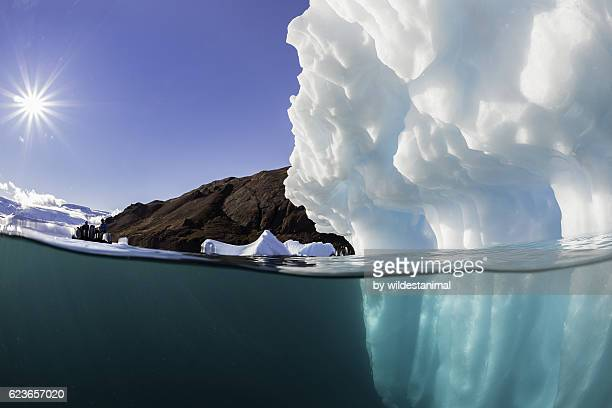 Sunlight On An Iceberg