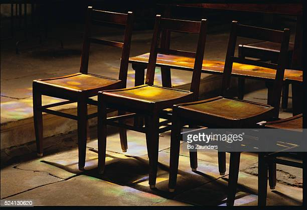 Sunlight on Cathedral Chairs
