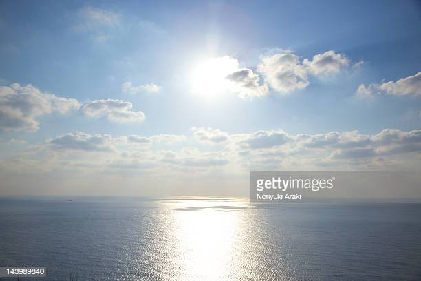 Sunlight over sea