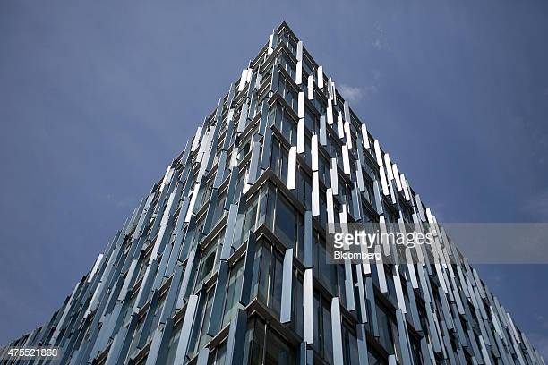 Sunlight shines off the shutters of the Blue Fin building owned by Time Inc on Southwark Street in London UK on Monday June 1 2015 Time Inc the...
