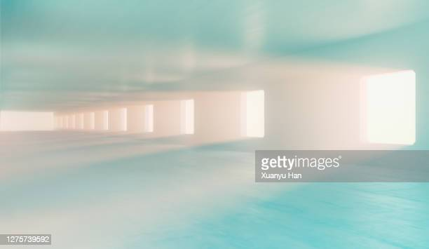 sunlight streaming through window on wall - sunbeam stock pictures, royalty-free photos & images