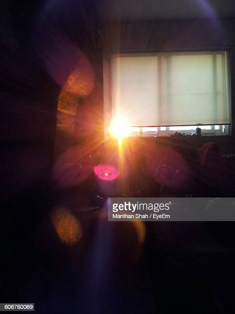 Sunlight Streaming Through Window