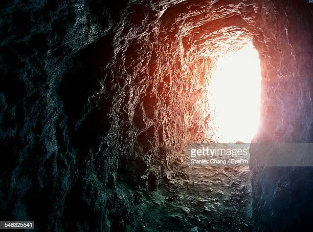 Sunlight Viewed Through Cave