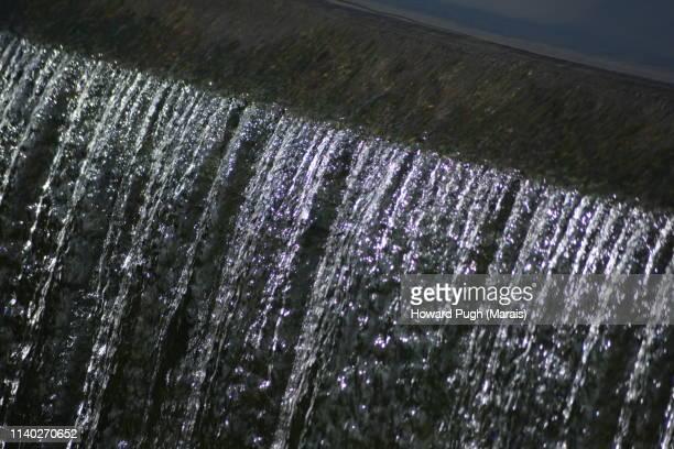 Sunlit Water in Motion