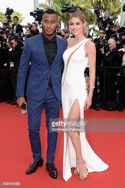 Sunnery James and model Doutzen Kroes attend the opening ceremony and premiere of 'La Tete Haute during the 68th annual Cannes Film Festival on May...