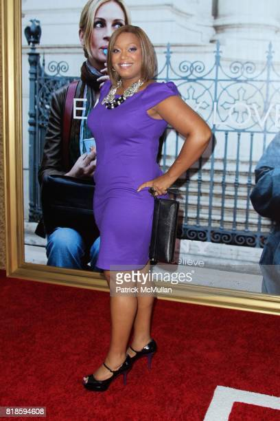 Sunny Anderson attends COLUMBIA PICTURES Presents the World Premiere of EAT PRAY LOVE at Ziegfeld Theatre on August 10 2010 in New York City