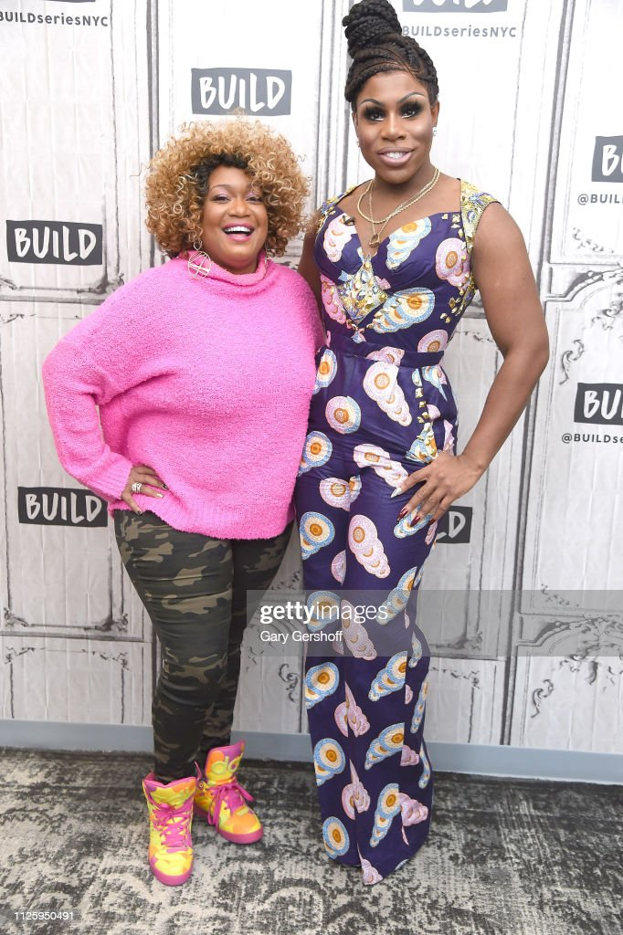 Sunny Anderson of the Food Network visits the Build Brunch with