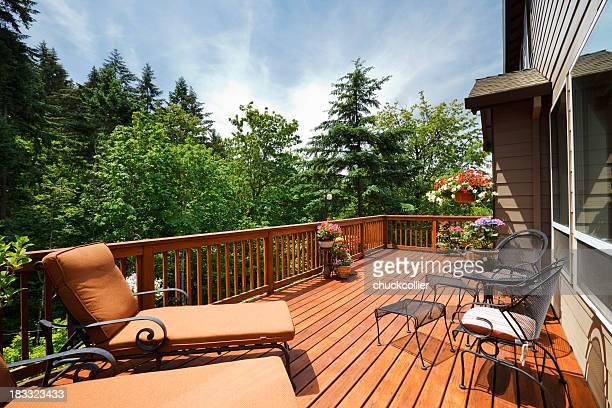 Sunny Back Deck
