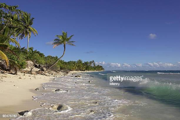 Sunny Beach on Cocos Island