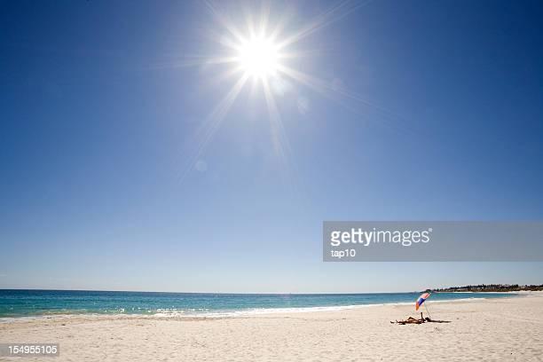 夏のビーチ - フリーマントル ストックフォトと画像