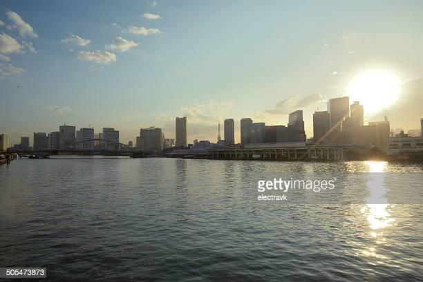 Sunny cityscape
