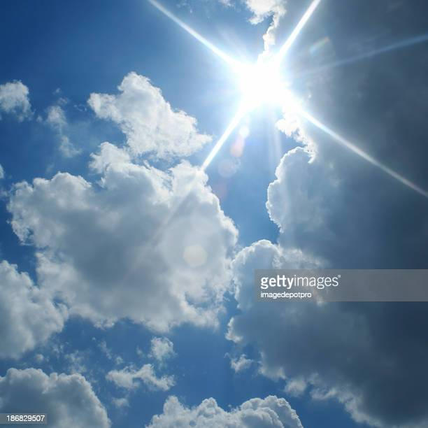 sunny cloudy sky - jesus is alive stock pictures, royalty-free photos & images