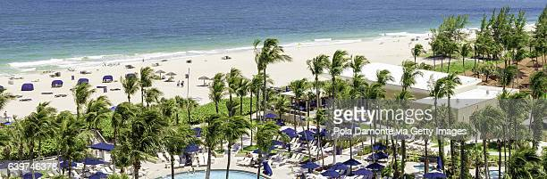Sunny day at Fort Lauderdale beach, Florida, USA