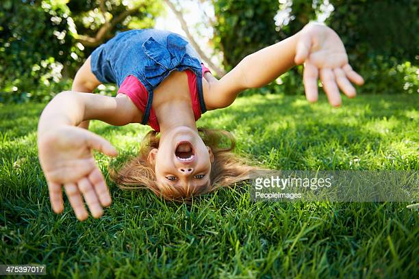 sunny day fun - cartwheel stock pictures, royalty-free photos & images