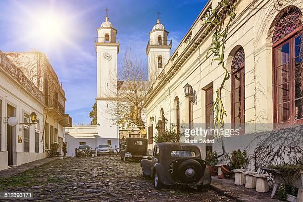 A sunny day in Colonia del Sacramento, Uruguay