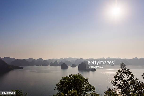 Sunny Day in Ha Long Bay from Ti Top Island