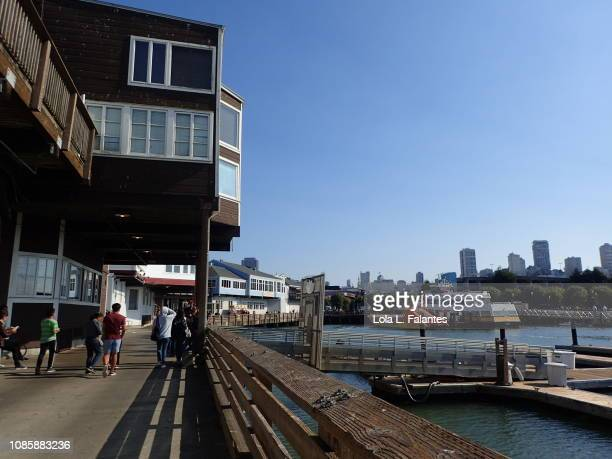 Sunny day in Pier 39, San Francisco
