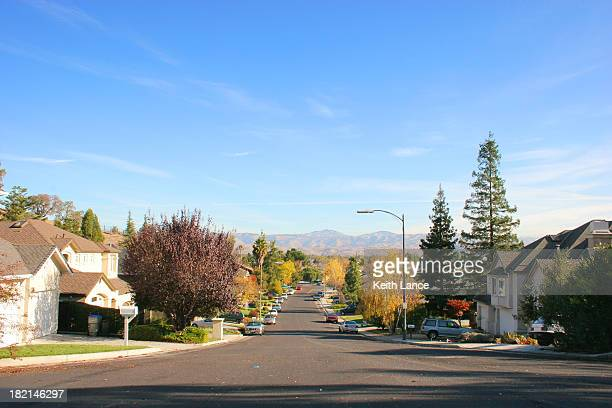 sunny day in san jose - santa clara county california stock pictures, royalty-free photos & images