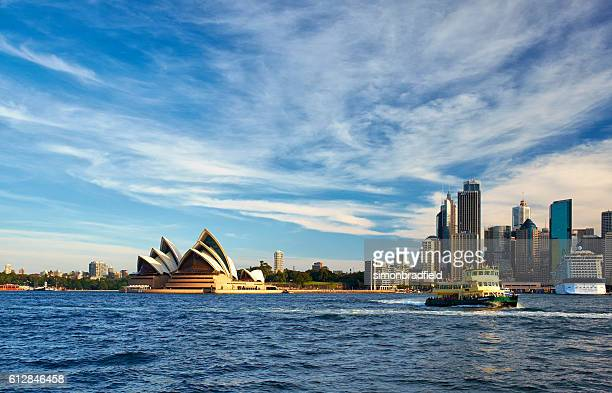 Sunny Day In Sydney Harbour