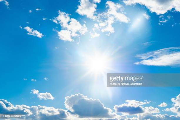 sunny day - cloud sky stock pictures, royalty-free photos & images