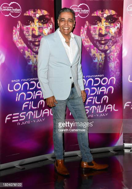 """Sunny Grewal attends """"WOMB """" Screening and Opening Gala during London Indian Film Festival 2021 at BFI Southbank on June 17, 2021 in London, England."""