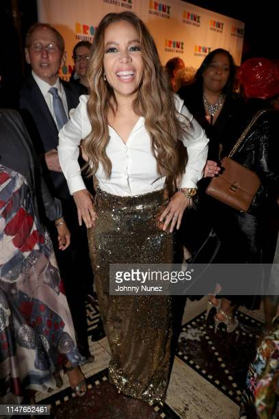 Sunny Hostin attends the Bronx Children's Museum Third Annual Gala and Benefit Honoring Rita Moreno at Gotham Hall on May 07 2019 in New York City