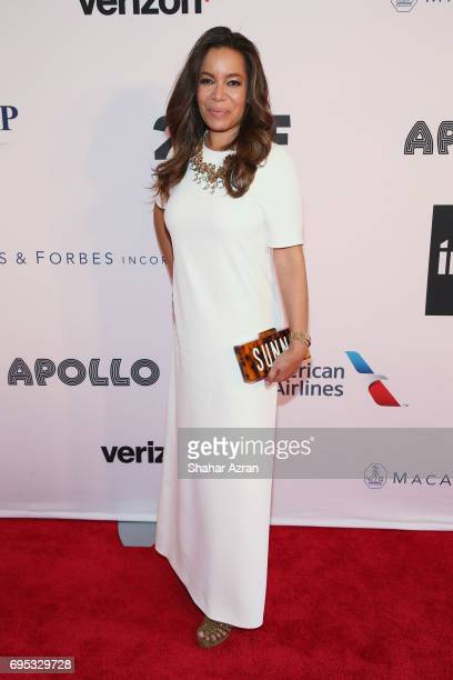 Sunny Hostin of the View attends Apollo Spring Gala 2017 at The Apollo Theater on June 12 2017 in New York City