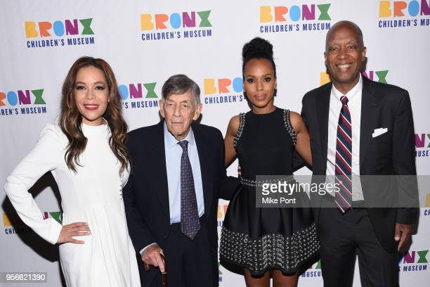 Sunny Hostin Richard Abrons Kerry Washington and Rafael Collado attends the Bronx Children's Museum Gala at Edison Ballroom on May 8 2018 in New York...