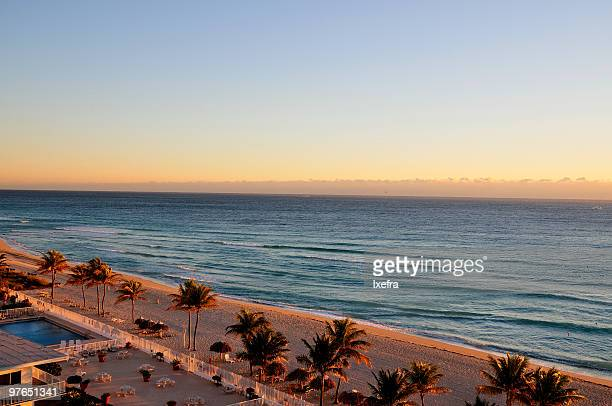 sunny isles, miami - miami beach stock pictures, royalty-free photos & images