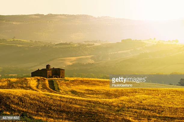 sunny landscape in umbria - umbria stock pictures, royalty-free photos & images