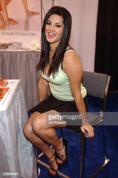 Sunny Leone Adult Film Star during Internext Las Vegas 2005 at Mandalay Bay Hotel Convention Center in Las Vegas Nevada United States