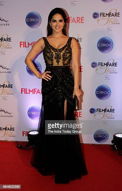 Sunny Leone at Ciroc Filmfare Glamour and style awards in Mumbai