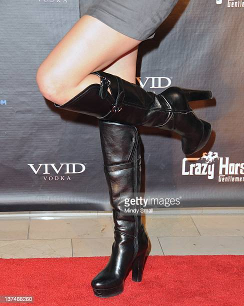 Sunny Leone attends Adult Entertainment Expo After Party at Crazyhorse III at Playground on January 20 2012 in Las Vegas Nevada