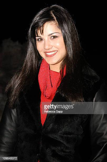 Sunny Leone during 2004 Sundance Film Festival DEBS Premiere at Eccles in Park City Utah United States
