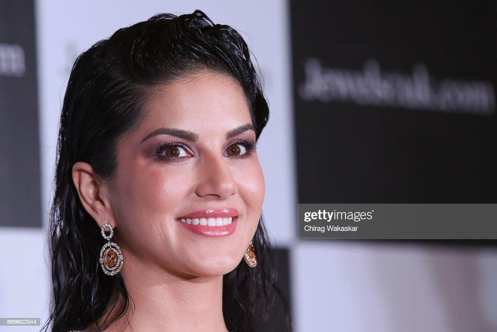Jewelsouk.com Announces Sunny Leone As Brand Ambassador : News Photo