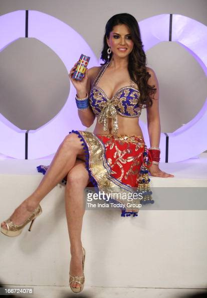 Sunny Leone Shoots For Xxx Energy Drink Commercial In Mumbai On April News Photo -1586