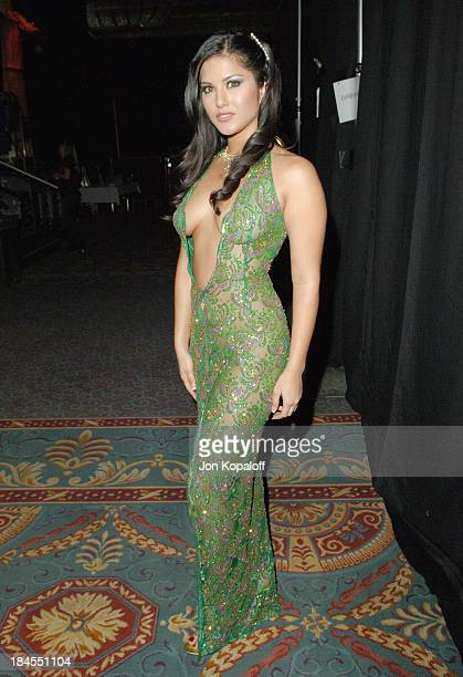 Sunny Leone Vivid Contract Performer during 2006 AVN Awards Arrivals and Backstage at The Venetian Hotel in Las Vegas Nevada United States