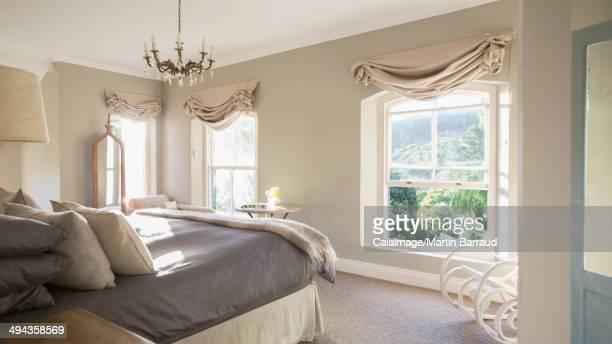 Sunny luxury bedroom