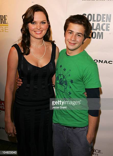 Sunny Mabrey and Michael Angarano during 2005 Toronto Film Festival HD Net Films Party at Premiere Lounge at Club Monaco in Toronto Canada