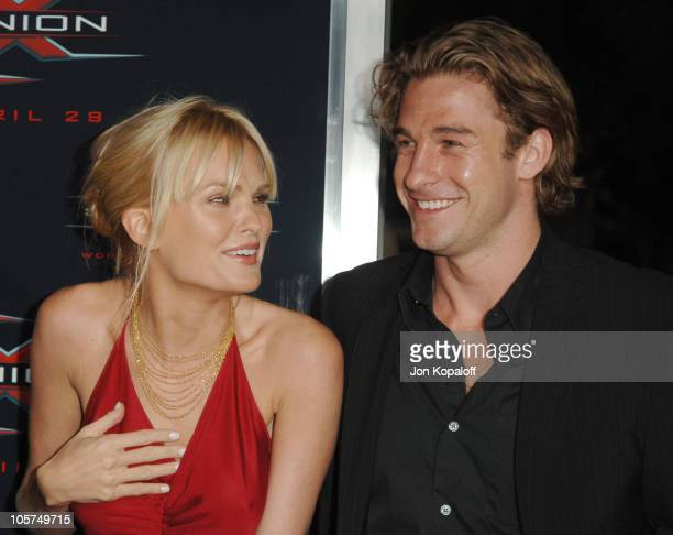 """Sunny Mabrey and Scott Speedman during """"XXX: State of the Union"""" Los Angeles Premiere - Arrivals at Mann Village Westwood in Westwood, California,..."""