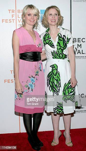 Sunny Mabrey Cynthia Nixon during 5th Annual Tribeca Film Festival Magnolia Pictures/HDNET Films One Last Thing Premiere at AMC Loews Lincoln Square...