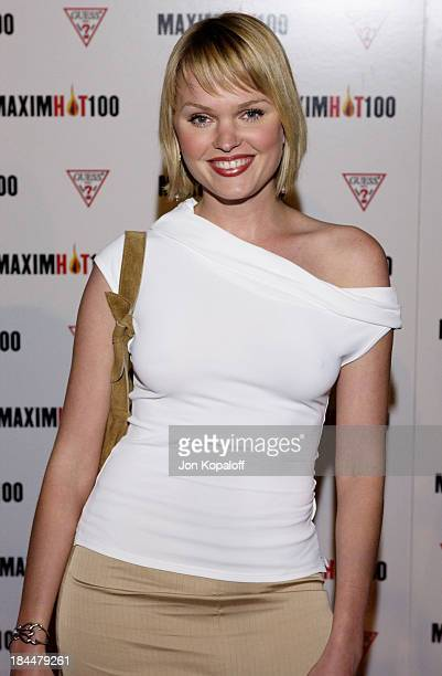 Sunny Mabrey during Maxim Hot 100 Party Arrivals at Yamashiro in Hollywood California United States