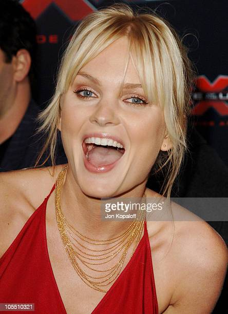 """Sunny Mabrey during """"XXX: State of the Union"""" Los Angeles Premiere - Arrivals at Mann Village Westwood in Westwood, California, United States."""