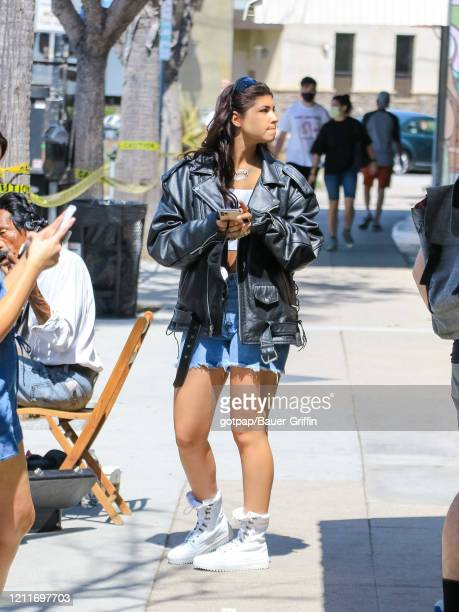 Sunny Malouf is seen on May 03, 2020 in Los Angeles, California.