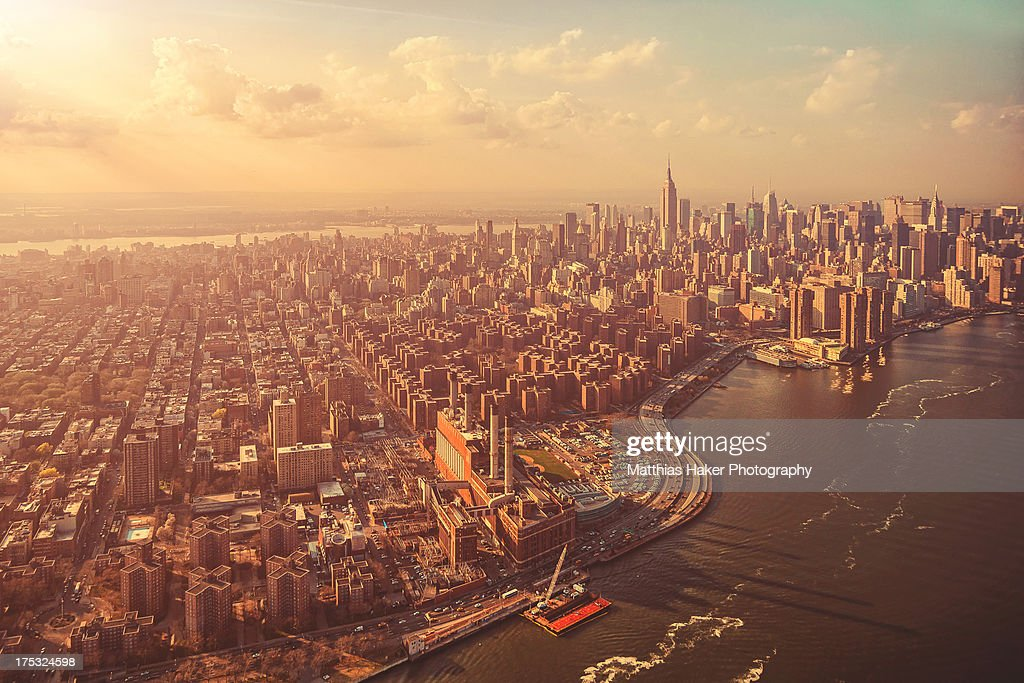 A Sunny Manhattan Afternoon : Stock Photo