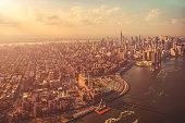 A Sunny Manhattan Afternoon